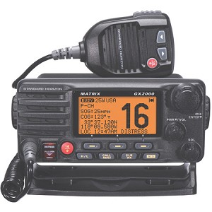 Standard Horizon Matrix GX2000 VHF Radio & AIS Display