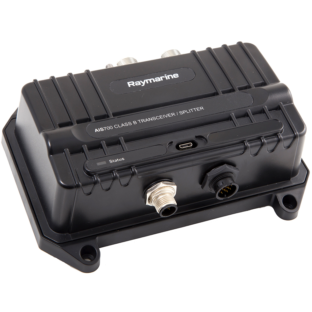 Raymarine AIS700 Class B SOTDMA AIS Transceiver with Antenna Splitter