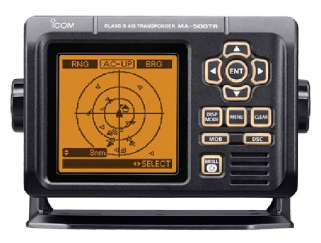 Icom MA-500TR Class B AIS Transponder and GPS Receiver