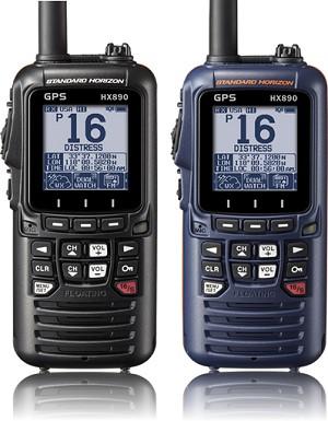 Standard Horizon HX890 Handheld DSC/GPS/VHF Radio